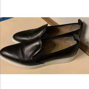 Everlane Womens Street Shoes black leather as 10